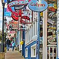 Bar Harbor Sidewalk by Jack Schultz