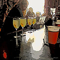 Bar Scene - Absinthe At Pirates Alley by Rebecca Korpita