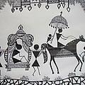 Baraat - The Wedding Procession by Sachin Raverkar