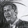 Barack Obama 1 by Michael Morgan