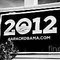 Barack Obama 2012 Us Presidential Election Poster Florida Usa by Joe Fox