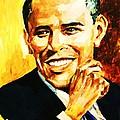 Barack Obama by Al Brown