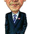 Barack Obama by Art