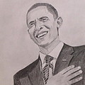 Barack Obama by Artistic Indian Nurse