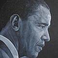 Barack Obama by David Dunne