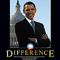 Barack Obama Difference by Retro Images Archive