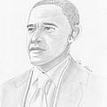Barack Obama by M Valeriano