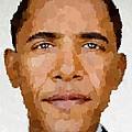 Barack Obama by Samuel Majcen