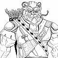 Baragh The Warrior by Reynold Jay