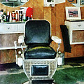 Barber - Barber Chair Front View by Susan Savad