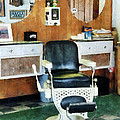 Barber - Barber Shop One Chair by Susan Savad