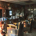 Barber - Barber Shop With Sun Streaming Through Window by Susan Savad
