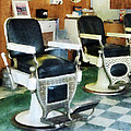 Barber - Corner Barber Shop by Susan Savad