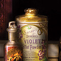 Barber -  Sharp And Dohmes Violet Toilet Powder  by Mike Savad