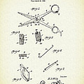 Barber Shears Patent 1927 by Mountain Dreams