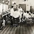 Barber Shop, 1920 by Granger