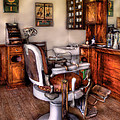 Barber - The Barber Chair by Mike Savad