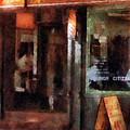 Barber - West Village Barber Shop by Susan Savad