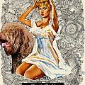 Barbet Art - Una Parisienne Movie Poster by Sandra Sij