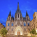 Barcelona Cathedral At Night by Artur Bogacki