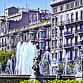 Barcelona Fountain by Jon Berghoff