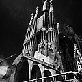 barcelona open topped bus city tour going past Sagrada Familia Barcelona Catalonia Spain by Joe Fox