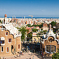 Barcelona Park Guell Antoni Gaudi by Matthias Hauser