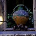Barcelona Spain Vase by Joyce Allen