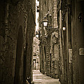 Barcelona Street by Mesha Zelkovich