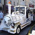 Barcelona Train Ride by Martin Masterson