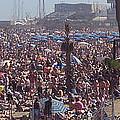 Barcelonetta Beach by David Nichols