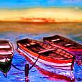 Barche by Marcello Cicchini