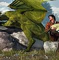 Bard And Dragon by Daniel Eskridge
