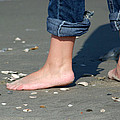 Barefoot On The Beach by Bob Pardue