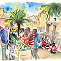 Bargaining Tourists In Siracusa by Miki De Goodaboom