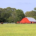 Barn And Pasture by Gordon Elwell