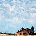 Barn And Sky by Stephen Abbott