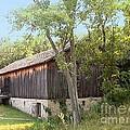 Barn At Adena by Charles Robinson
