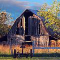Barn At Ash Flat Arkansas by Ed Cooper