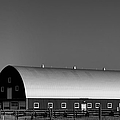 Barn At Deer Lodge by Cathy Anderson