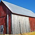 Barn By Side Of Road by Karen Lambert