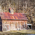 Barn By The Bluffs by Cricket Hackmann