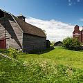 Barn Days Of Old by Angelito De Jesus
