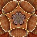 Barn Door Hinge Pentagram by Peter J Sucy