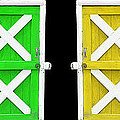 Barn Doors by Gunter Nezhoda