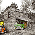 Barn Finds Classic Cars by Jack Pumphrey