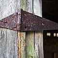 Barn Hinge 1 by Douglas Barnett