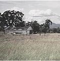 Barn In Black N White by Bobbee Rickard