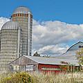 Barn In The Clouds by Deborah Benoit