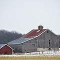 Barn In The Field by Bonfire Photography